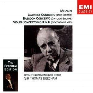 Mozart: Clarinet, Bassoon & Violin Concertos