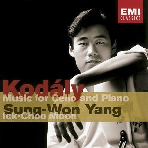 Kodaly : Works for Cello & Piano