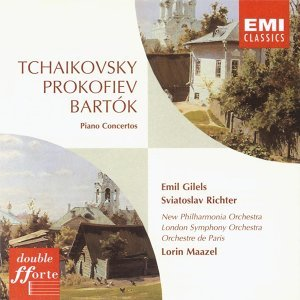 Bartók/Prokofiev/ Tchaikovsky Piano Concertos