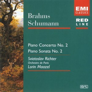 Brahms:Piano Concerto 2/Schumann:Sonata 2