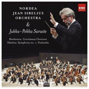 Beethoven: Coriolanus Overture - Sibelius: Symphony No. 1, Finlandia