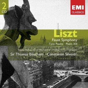 Liszt: Faust Symphony; Psalm XIII; Les preludes, Tasso etc.