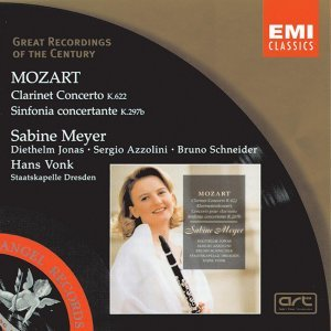 Mozart Clarinet Concerto in A Major K622/Sinfonia concertante in E flat Major K297b