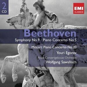 """Beethoven: Symphony No. 9, """"Choral"""" & Piano Concerto No. 5, """"Emperor"""""""