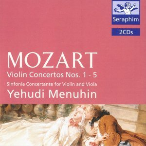 Violin Concertos Nos. 1 - 5/ Sinfonia Concertante - Mozart