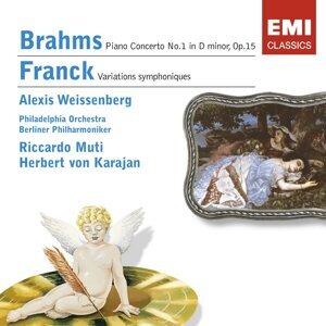 Brahms: Piano Concerto No. 1/Franck: Symphonic Variations