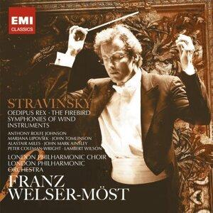 Stravinsky: Oedipus Rex, Firebird & Symphonies of Wind Instruments