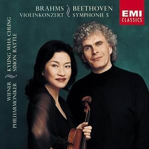 Beethoven:symphony No.5 In C Minor/Brahms:violin Concerto In d