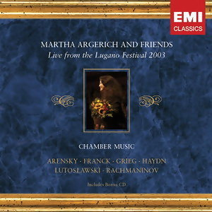 Martha Argerich Lugano Festival Of Chamber Music