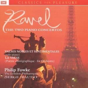 Piano Concertos/Valses Sentimentales/La Valse