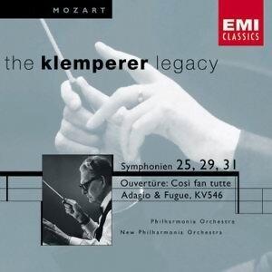 Mozart: Symphonies 25,29 & 31 Etc