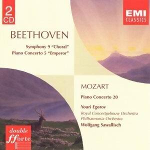 Beethoven:symphony No. 9/Piano Concerto No. 5/Mozart: Piano Concerto No. 20