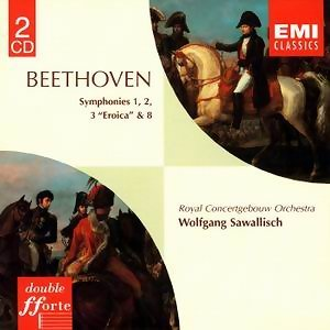 Beethoven: Symphonies Nos. 1 & 3, 2 & 8