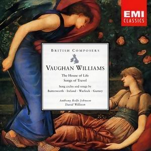 Vaughan Williams The House Of Life, Songs Of Travel (And Son