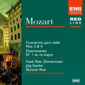 Mozart: Violin Concertos Nos. 2 & 4/Divertimento No. 1