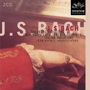 J.S.Bach: Goldberg Variations; Italian Concerto; French Over