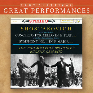 Shostakovich: Symphony No. 1; Cello Concerto [Great Performances]