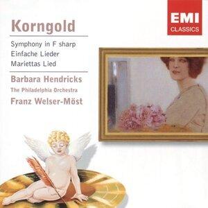 Korngold: Symphony in F sharp/Lieder etc.