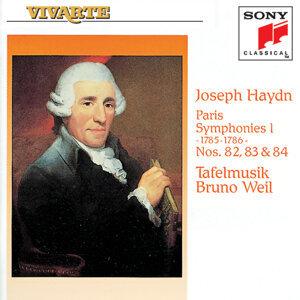 Paris Symphonies Hob. I: 82, 83 & 84