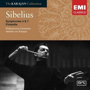 Sibelius: Symphony Nos 4 & 7; Finlandia