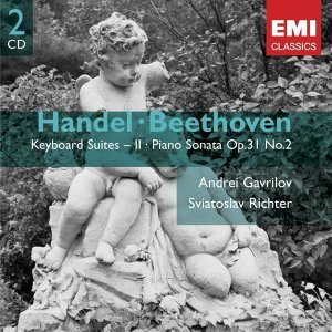Handel: Keyboard Suites Vol. II - Beethoven: Piano Sonata Op.31 No.2