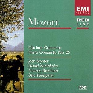 Mozart: Clarinet Concerto/Piano Concerto No. 25