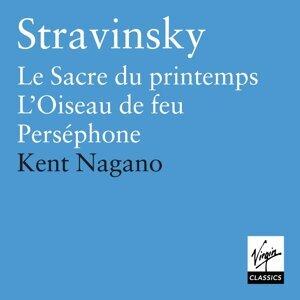 Stravinsky: Le Sacre du Printemps, L'Oiseau de Jeu, Perséphone, Symphonies d'instruments a vent