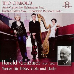 Genzmer: Werke für Flöte, Viola und Harfe