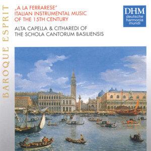 A La Ferrarese: Italian Instrumental Music Of The 15th Century