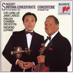 Sinfonia Concertante in E-flat Major for Violin, Viola & Orchestra, K. 364 (320d)