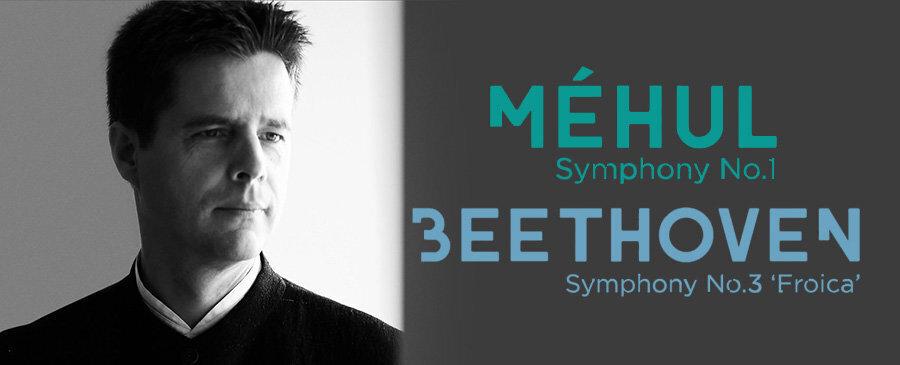 "Méhul: Symphony No. 1 - Beethoven: Symphony No. 3 ""Eroica"""