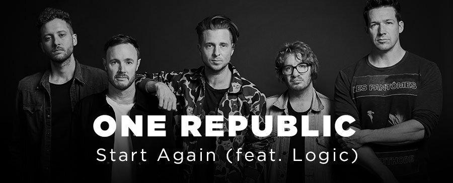 OneRepublic/ Start Again(feat. Logic)