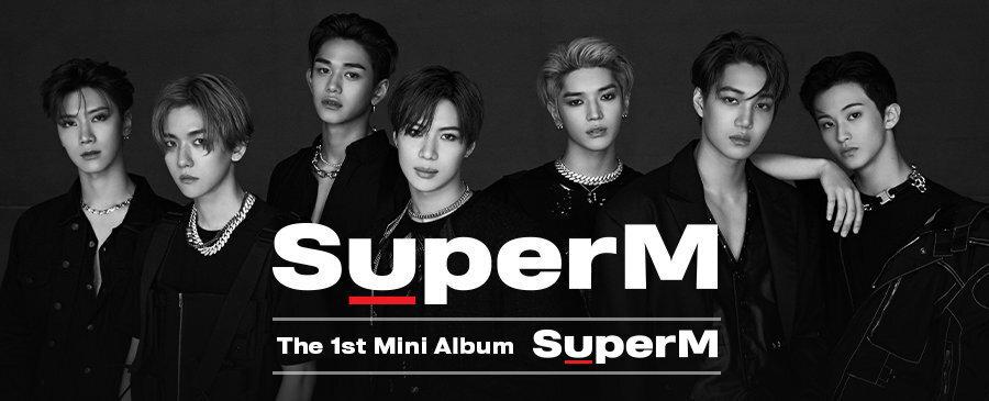 SuperM The 1st Mini Album