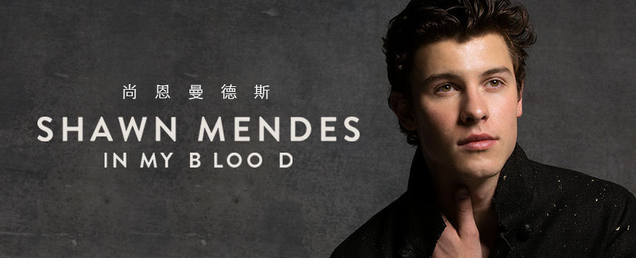 Shawn Mendes/In My Blood
