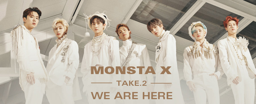 MONSTA X / Take.2 We Are Here.