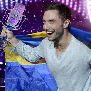 瑞典型男歌手奪得歐洲歌唱大賽冠軍