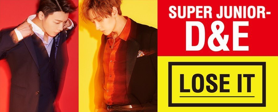 SUPER JUNIOR-D&E / LOSE IT