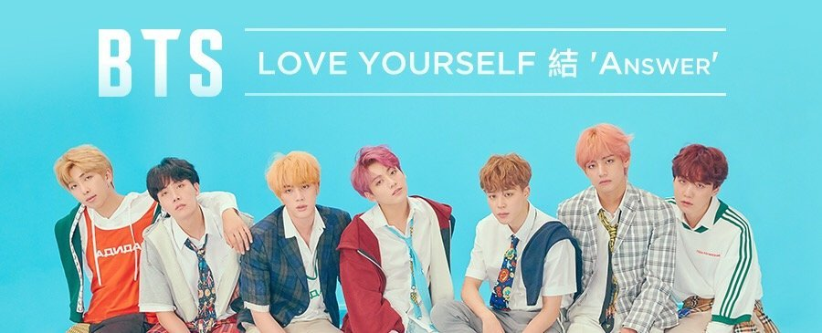 BTS  / Love Yourself 結 'Answer'