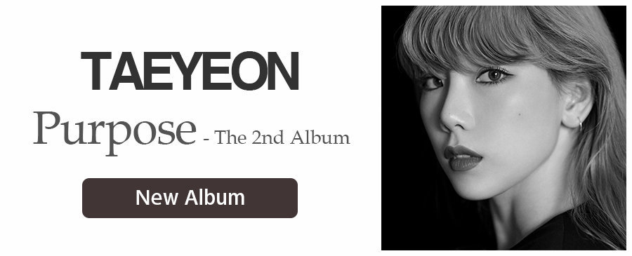 TAEYEON / Purpose - The 2nd Album