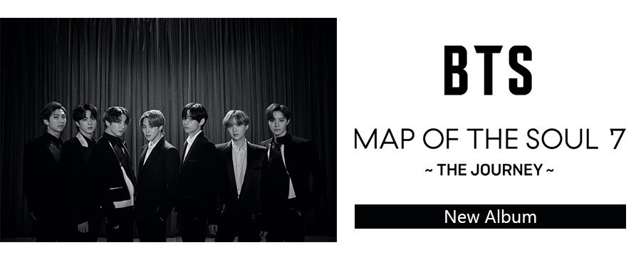 BTS / MAP OF THE SOUL : 7 ~ THE JOURNEY ~