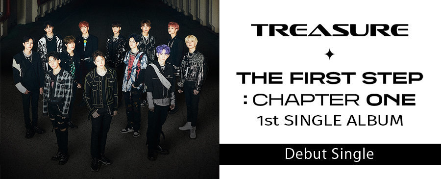 TREASURE / TREASURE THE FIRST STEP: CHAPTER ONE 1st SINGLE ALBUM