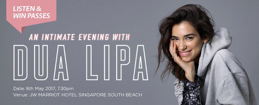 An Intimate Evening with Dua Lipa