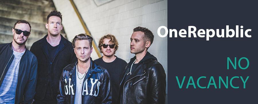 OneRepublic / No Vacancy