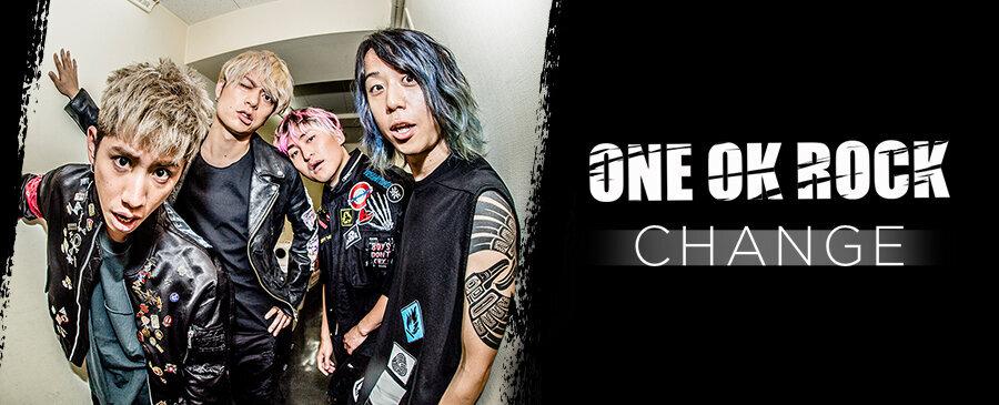 ONE OK ROCK / CHANGE
