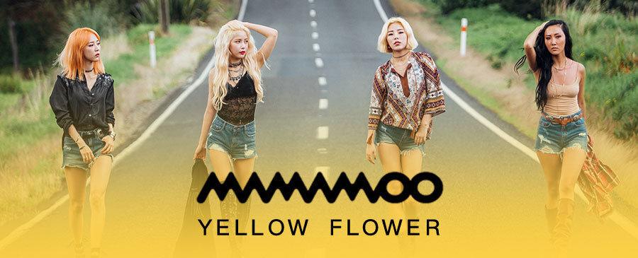 MAMAMOO / Yellow Flower