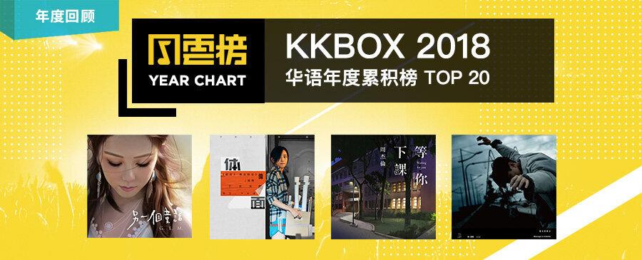 ARTICLE | 2018 KKBOX 華語累積榜