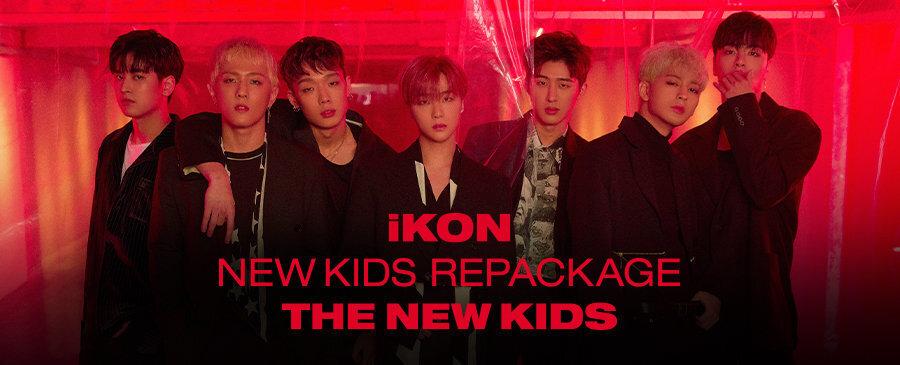 iKON / NEW KIDS REPACKAGE : THE NEW KIDS