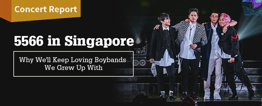 5566 Concert in Singapore