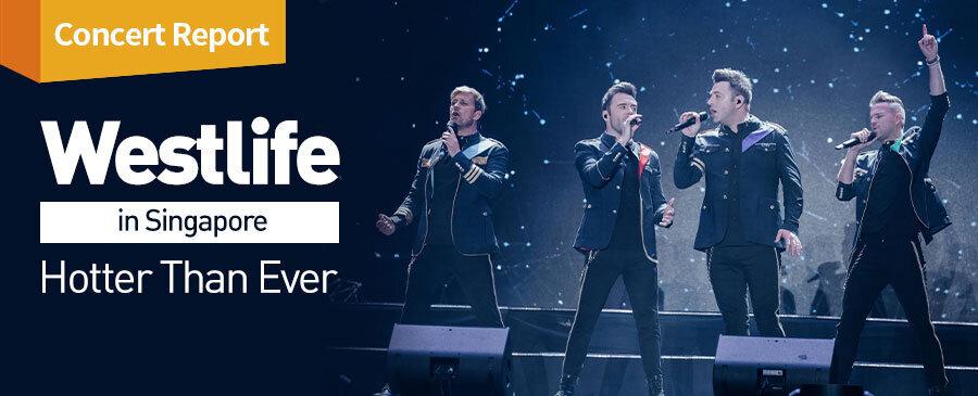Westlife Concert in SG