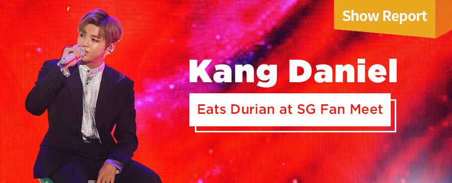 Kang Daniel Fan Meet in SG
